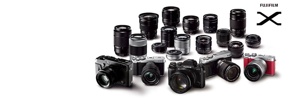 The fuji X system. Very much a camera for the lover of the glory days of film (though they're digital cameras).