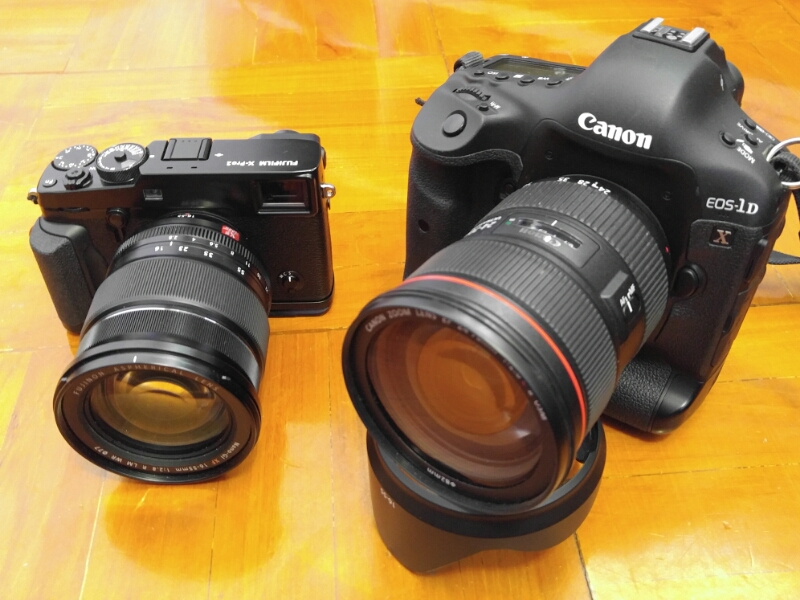 Canon 1Dx vs Fuji X-Pro 2 focus speed